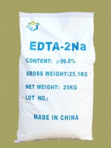 二ナトリウムEDTA-2Na 25KGバッグで包装