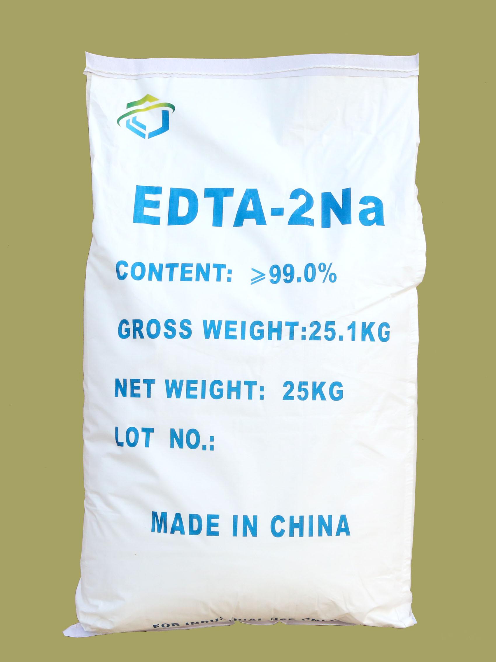 EDTA disódico, EDTA-2Na 99%, 25KG/bolsa